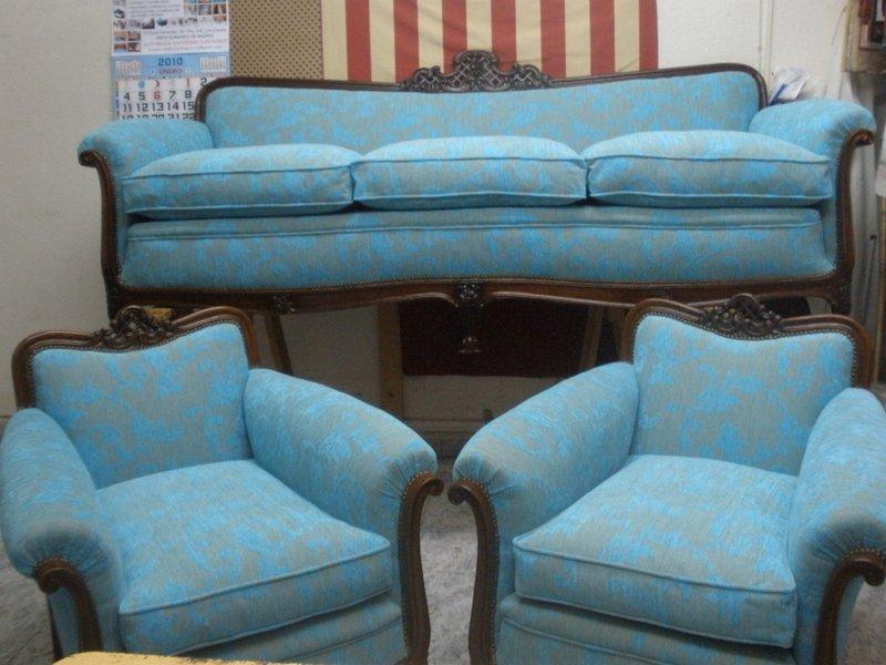 Tapicer a espinosa inicio trabajos tapizado de muebles for Tapizado de muebles